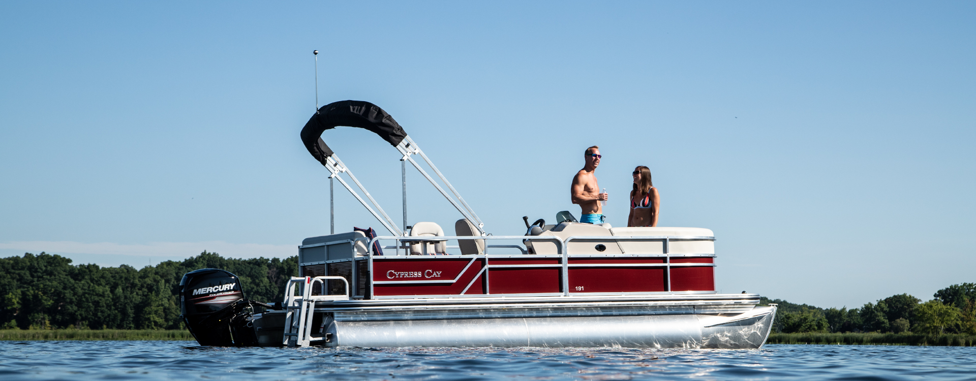 Cypress Cay Pontoon Boats | Relaxation, Adventure & Fishing Boats