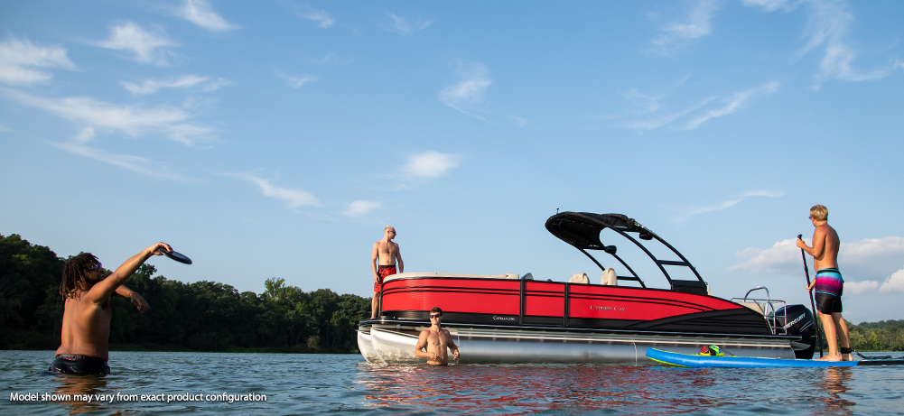 Cayman Series Luxury Pontoons