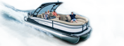 Cayman Series Pontoon Boats